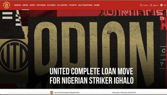 Vua phá lưới Cúp châu Phi Odion Ighalo bất ngờ gia nhập Man United  - Ảnh 3.