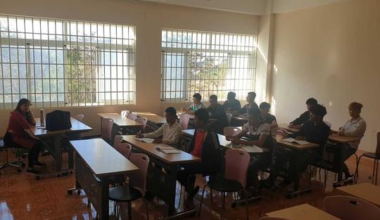 Đắk Lắk: Nhiều trường vẫn tổ chức học tập - Ảnh 1.