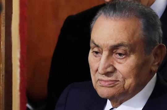 Cựu Tổng thống Ai Cập Hosni Mubarak qua đời - Ảnh 1.