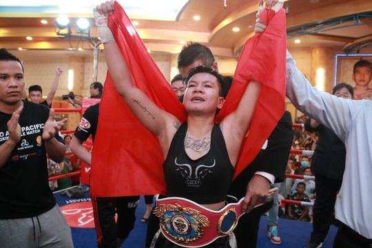 Thu Nhi trở thành nữ võ sĩ đầu tiên của Việt Nam giành đai WBO Châu Á Thái Bình Dương - Ảnh 3.