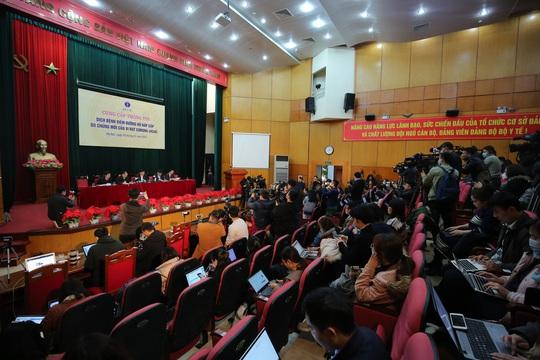 Bộ Y tế thông tin về dịch bệnh virus corona: Việt Nam đã chuẩn bị tất cả các tình huống - Ảnh 3.
