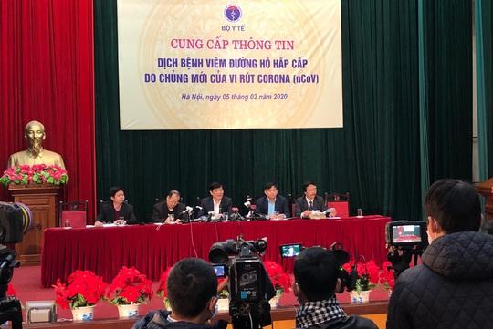 Bộ Y tế thông tin về dịch bệnh virus corona: Việt Nam đã chuẩn bị tất cả các tình huống - Ảnh 1.