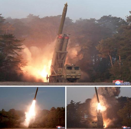 Vì sao Triều Tiên thúc đẩy các vụ thử nghiệm hệ thống tên lửa tầm ngắn? - Ảnh 3.