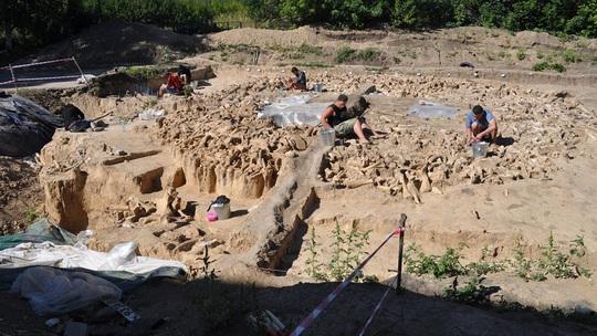 Lạnh người với kiến trúc 20.000 tuổi xây bằng hài cốt quái thú tuyệt chủng - Ảnh 1.