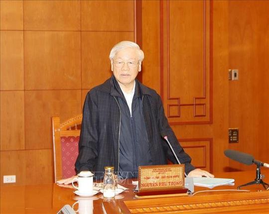 Tổng Bí thư, Chủ tịch nước Nguyễn Phú Trọng chủ trì họp Tiểu ban Nhân sự Đại hội XIII - Ảnh 1.