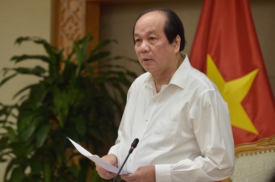 Bộ trưởng Mai Tiến Dũng: Rà soát khoản duyệt chi 269 tỉ đồng mua ấm chén ở Hải Phòng - Ảnh 1.