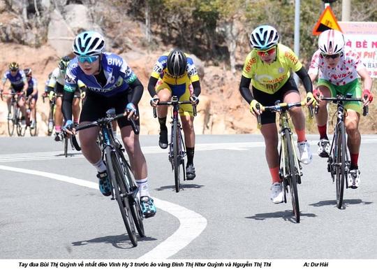 Như Quỳnh nắm chắc áo đỏ giải xe đạp nữ quốc tế Bình Dương - Cúp Biwase 2020 - Ảnh 1.