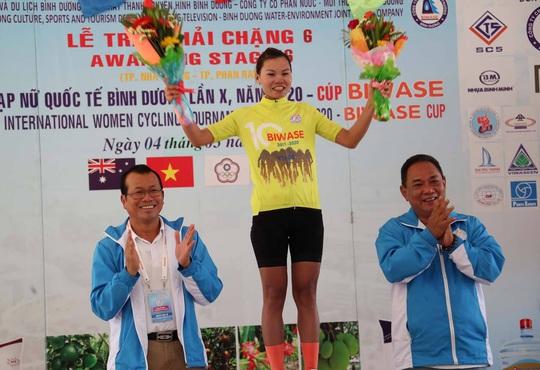 Như Quỳnh nắm chắc áo đỏ giải xe đạp nữ quốc tế Bình Dương - Cúp Biwase 2020 - Ảnh 2.