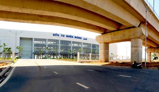 LƯU Ý: Bắt đầu điều chỉnh giao thông khu vực Bến xe Miền Đông mới - Ảnh 2.