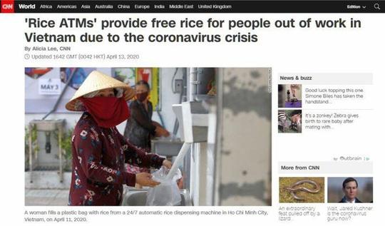Truyền thông quốc tế: ATM gạo là điều khó tin có thật - Ảnh 1.