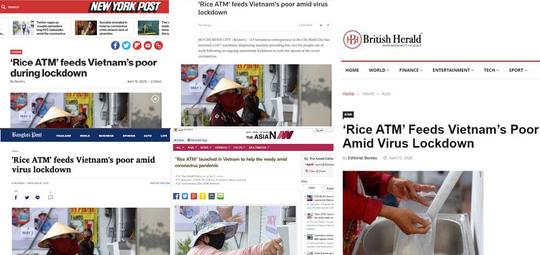 Truyền thông quốc tế: ATM gạo là điều khó tin có thật - Ảnh 3.