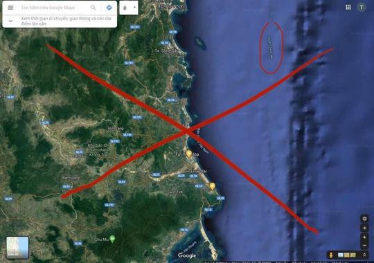 Google Maps chú thích sai nghiêm trọng bãi biển ở Phú Yên - Ảnh 2.