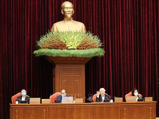 Chùm ảnh Tổng Bí thư, Chủ tịch nước Nguyễn Phú Trọng chủ trì Hội nghị cán bộ toàn quốc - Ảnh 3.