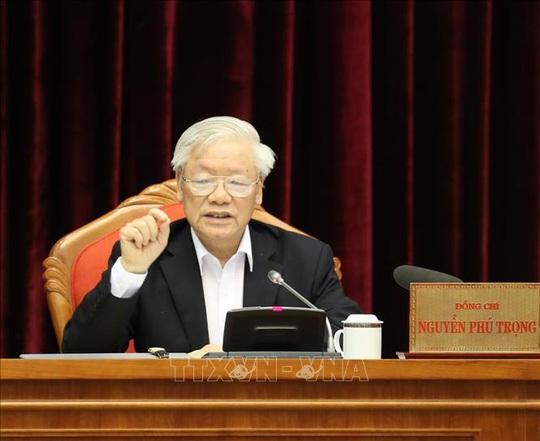 Chùm ảnh Tổng Bí thư, Chủ tịch nước Nguyễn Phú Trọng chủ trì Hội nghị cán bộ toàn quốc - Ảnh 5.