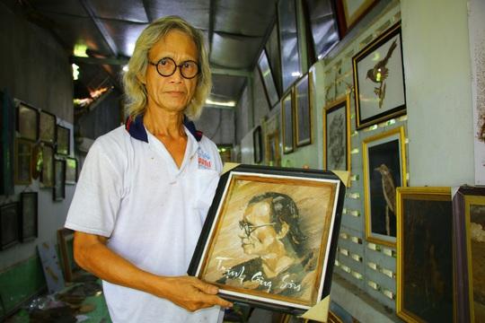 Nghệ nhân Đồng Tháp tiết lộ bí quyết sáng tác tranh Bác Hồ từ lá sen - Ảnh 6.