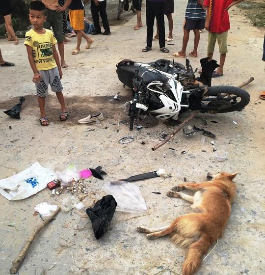 Đi trộm chó bị phát giác, cẩu tặc dùng dao chém người dân trọng thương - Ảnh 2.