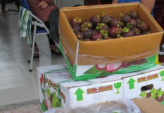 Măng cụt Thái Lan ngập chợ, người Việt ăn mà không biết - Ảnh 1.
