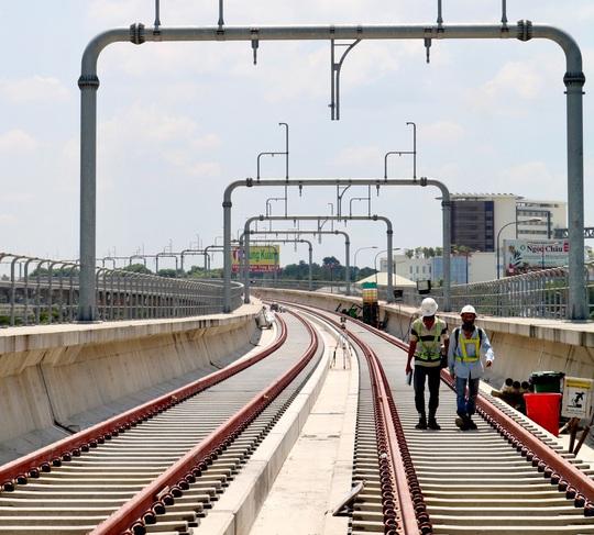 Cận cảnh Depot và ga trên cao tuyến metro Bến Thành - Suối Tiên - Ảnh 8.