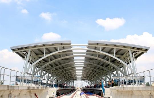 Cận cảnh Depot và ga trên cao tuyến metro Bến Thành - Suối Tiên - Ảnh 11.
