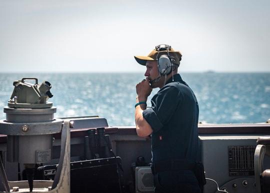 Tàu chiến Mỹ qua eo biển Đài Loan, hoạt động mạnh trên Thái Bình Dương - Ảnh 4.