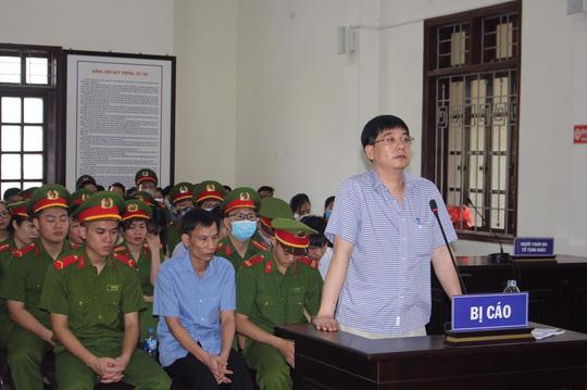 Cựu thượng tá công an vụ gian lận điểm thi đề nghị VKSND xin lỗi - Ảnh 1.
