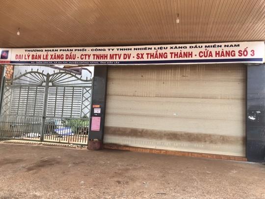 Hàng loạt cửa hàng xăng dầu Đắk Lắk đóng cửa vì hết xăng! - Ảnh 2.
