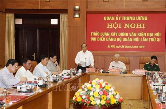 Chùm ảnh Tổng Bí thư, Chủ tịch nước Nguyễn Phú Trọng chủ trì Hội nghị Quân ủy Trung ương - Ảnh 7.