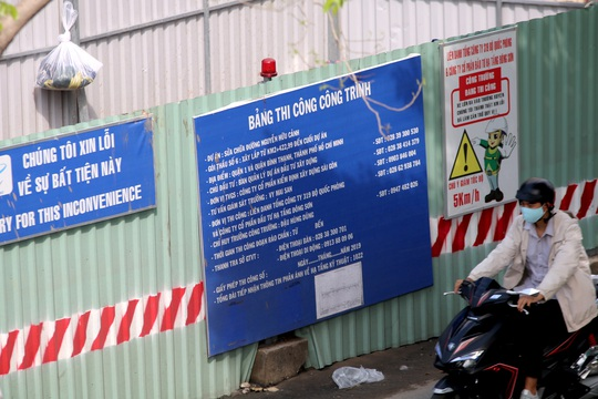 Toàn cảnh lô cốt dày đặc cửa ngõ phía Đông TP HCM - Ảnh 6.