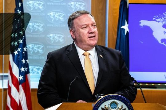 Mỹ tăng sức ép lên Trung Quốc về vấn đề Hồng Kông - Ảnh 1.