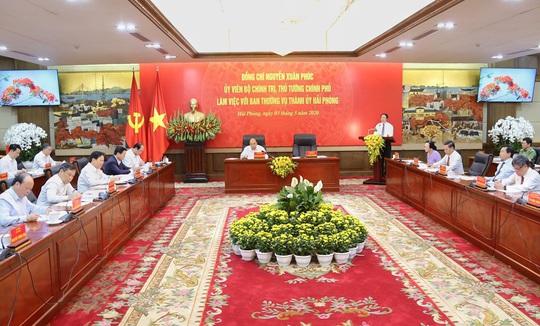 Thủ tướng muốn nghe quyết tâm mới của Hải Phòng hậu Covid-19 - Ảnh 1.