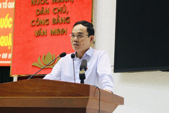 Phó Bí thư Thường trực Thành ủy TP HCM: Dựng tượng vua Lý Thái Tông cần dung hòa - Ảnh 1.
