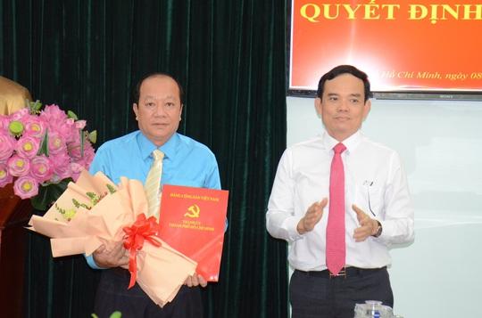 Đại tá Trần Thanh Trà giữ chức Phó trưởng Ban Nội chính Thành ủy TP HCM - Ảnh 1.
