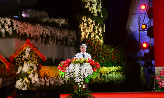 Thường trực Ban Bí Thư Trần Quốc Vượng dự Lễ khánh thành tượng đài Chủ tịch Hồ Chí Minh với nhân dân Quảng Bình - Ảnh 3.