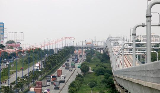 Cận cảnh ga trên cao tuyến metro Bến Thành - Suối Tiên sắp hoàn thiện - Ảnh 8.