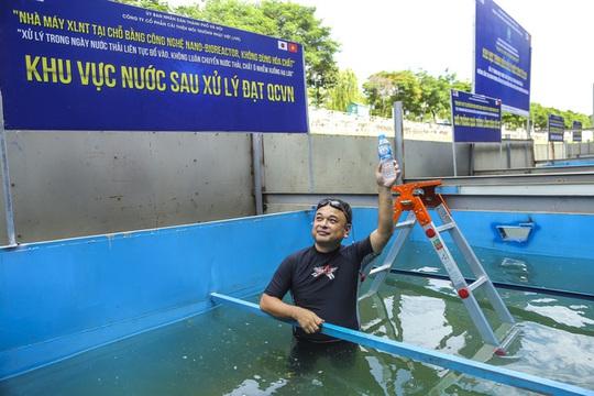 Hà Nội nói chuyên gia Nhật từ bỏ làm sạch sông Tô Lịch, JVE bảo phát ngôn sai sự thật - Ảnh 1.