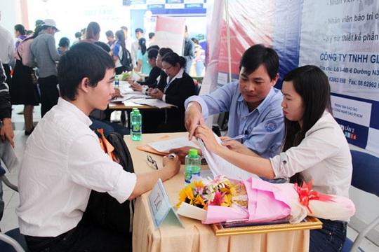80 doanh nghiệp tham gia tuyển dụng lao động - Ảnh 1.