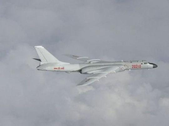 Máy bay ném bom Trung Quốc xâm nhập Đài Loan, bị xua đuổi - Ảnh 1.