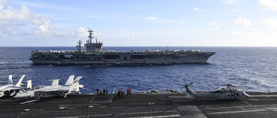 Tàu sân bay Mỹ không ngán tên lửa Trung Quốc - Ảnh 1.