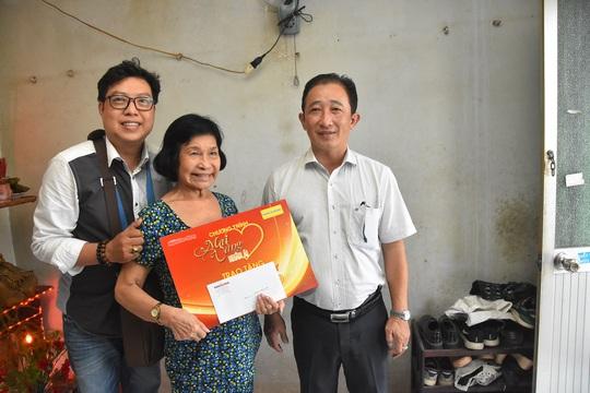 Mai Vàng nhân ái thăm nhạc sĩ Nguyễn Tôn Nghiêm và đào võ Thanh Thế - Ảnh 4.
