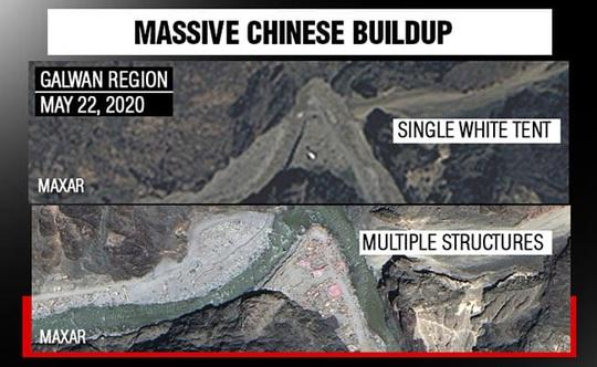 Ảnh vệ tinh: Trung Quốc vẫn âm thầm lấn tới ở biên giới Trung - Ấn - Ảnh 1.
