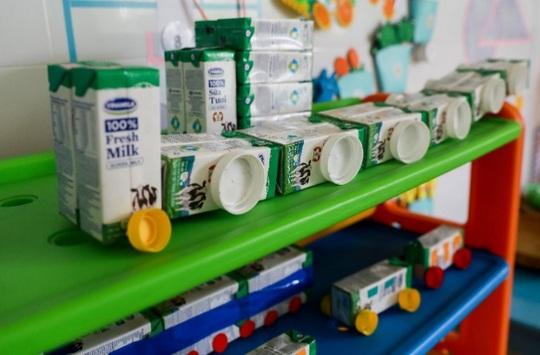 Vinamilk mang niềm vui uống sữa đến với trẻ em Hà Nội thông qua Quỹ sữa Vươn cao Việt Nam  - Ảnh 20.