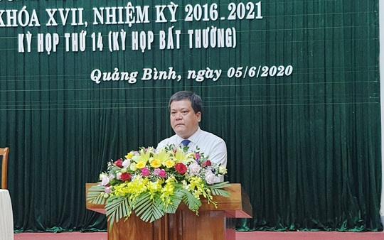 Ông Trần Phong được bầu làm Phó Chủ tịch UBND tỉnh Quảng Bình - Ảnh 2.