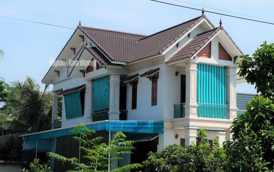 Bất ngờ với những ngôi nhà của hộ cận nghèo ở xã có 712 hộ cận nghèo - Ảnh 3.