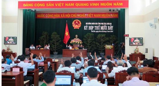 Miễn nhiệm chức danh Chủ tịch HĐND tỉnh Phú Yên của ông Huỳnh Tấn Việt - Ảnh 1.