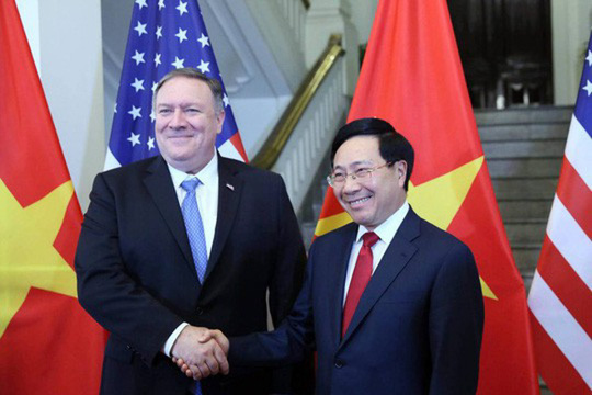 Ngoại trưởng Mỹ: Mong chờ 25 năm tiếp theo trong quan hệ Việt - Mỹ - Ảnh 1.