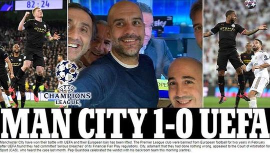 Man City thoát án phạt Champions League, châu Âu sốc nặng - Ảnh 1.
