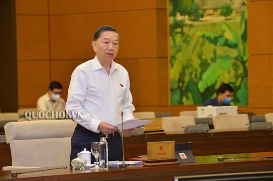 Bộ trưởng Tô Lâm sốt ruột về dự án Luật Bảo đảm trật tự, an toàn giao thông đường bộ - Ảnh 1.