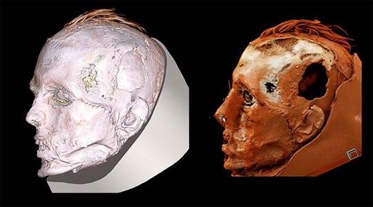 Phát hiện sốc khi tái sinh người đàn ông đeo mặt nạ tử thần - Ảnh 1.