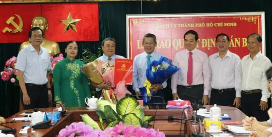 Ông Võ Văn Đức giữ chức Phó Bí thư Quận ủy quận 3 - Ảnh 1.