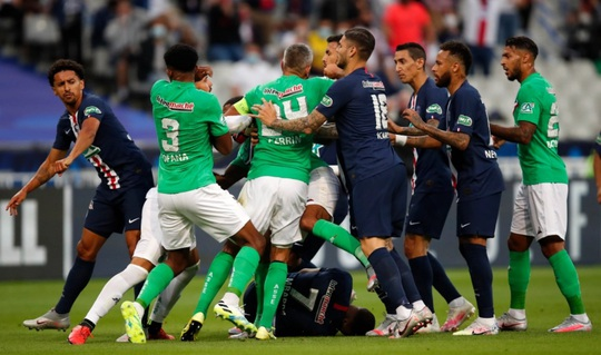 Chấn thương kinh hoàng, Mbappe chia tay Champions League - Ảnh 2.